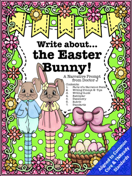 Easter Bunny Narrative Essay Creative Story Writing Prompt Common  Easter Bunny Narrative Essay Creative Story Writing Prompt Common Core  Aligned