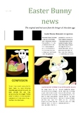 Easter Bunny Newsletter Fun Computer Lesson