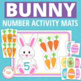 Easter Bunny Number Activities | Bunny 1-10 Number and Cou