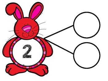 Easter Bunny Number Bonds