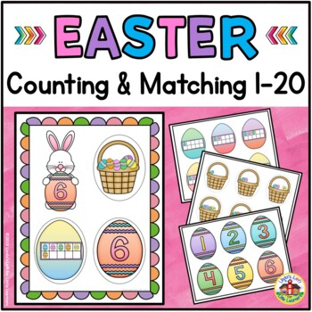Easter Bunny Number Match 0-11
