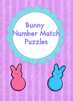 Easter Bunny - Number Match Puzzles