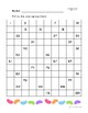 Easter Bunny Numbers and Operations in Base 10 Math Worksheets