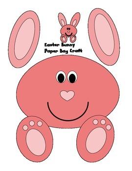 Easter Bunny Paper Bag Craft