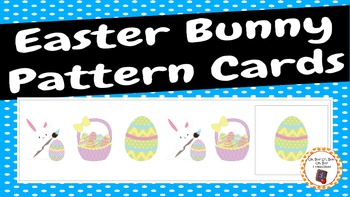Easter Bunny Pattern Cards