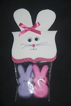 Easter Bunny Peep Pouch student gifts (set of 12)