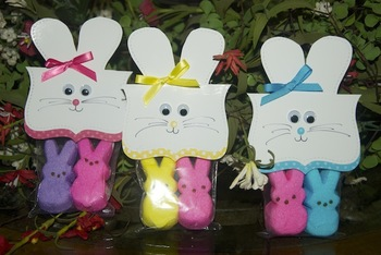 Easter bunny peep pouch student gifts set of 12 by thoughtfully easter bunny peep pouch student gifts set of 12 negle Gallery