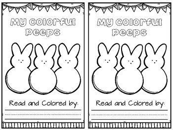 Easter Bunny Peeps Craft : Easter Craft : Spring Craft