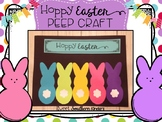 Easter Bunny Peeps Craft : Easter Craft : Spring Craft