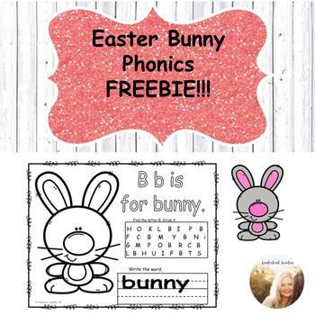Easter Bunny Phonics FREEBIE