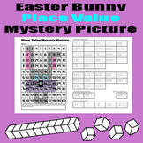 Easter Bunny Place Value Math Mystery Picture - 11x17