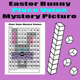 Easter Bunny Place Value Math Mystery Picture - 8.5x11