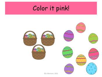 Easter Bunny Place Value - Watch, Think, Color Mystery Pictures