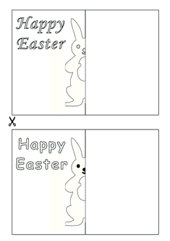Easter Bunny Pop-up Card