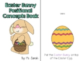 Easter Bunny Positional Concepts Book