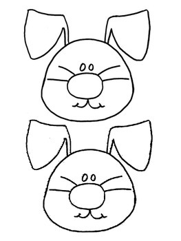 Easter Bunny Puppet