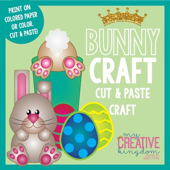 Easter Bunny Rabbit Craft