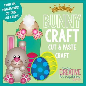 Easter Bunny Rabbit Craft (Glyph)
