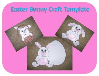 Easter Bunny (Rabbit) Craft Template