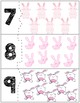 Easter Bunny Self Correcting Quantity Puzzles | Numbers 1-10