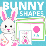 Easter Bunny Shape Sort | Bunny Activities | Spring Activities for Preschool