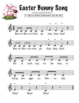 Easter Bunny Song (Mi, Re, Do)
