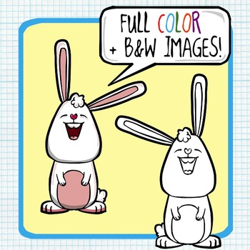 Easter Bunny / Spring Clip Art FREEBIE!