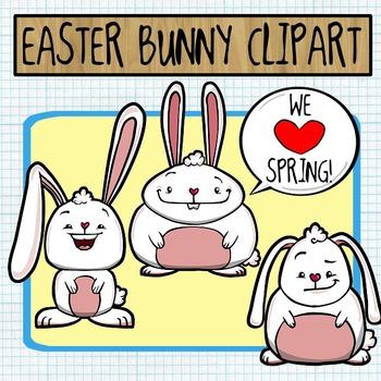 Easter Bunny / Spring Clip Art FREEBIE!