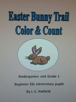 Easter Bunny Trail Color and Count