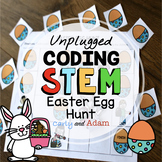 Easter Bunny Unplugged Coding STEM Activity