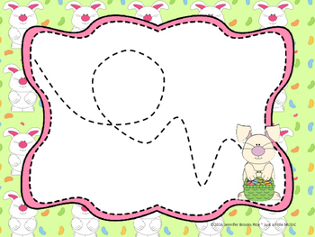 Easter Bunny--Vocal Exploration Slides and Worksheet
