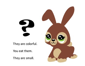 Easter Bunny, What Could It Be? Powerpoint Inferential Skills