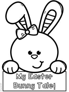 Easter Bunny Writing Craftivity!