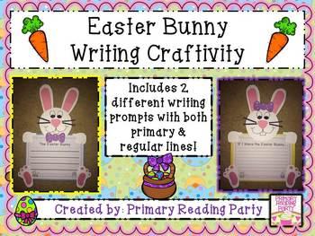 Easter Bunny Writing Craftivity