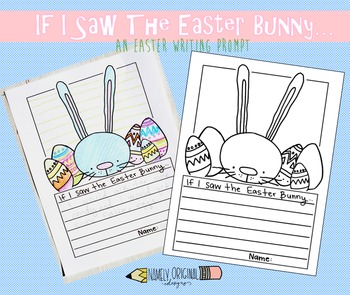 Easter Bunny Writing Prompt