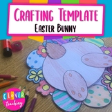 Easter Bunny Writing Prompt - Crafting Template - What hap