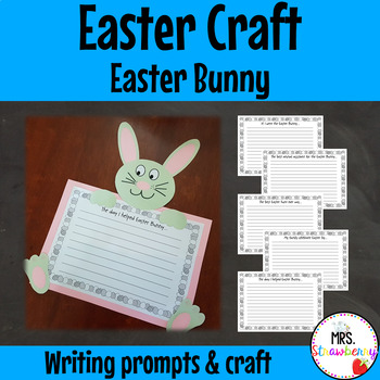 Easter Bunny Writing Prompts and Craft