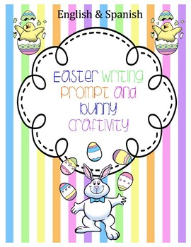 Easter Bunny Writing and Craftivity