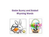 Easter Bunny and Basket Rhyming Common Core Standards
