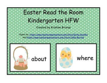 Easter Bunny and Chicks First Grade HFW