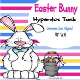 Easter Bunny and Rabbits Facts Hyperdoc and Google Drawing