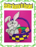 Easter Bunny in Basket Art Project