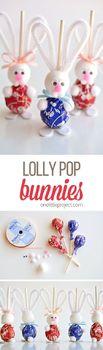 Easter Bunny lolipops