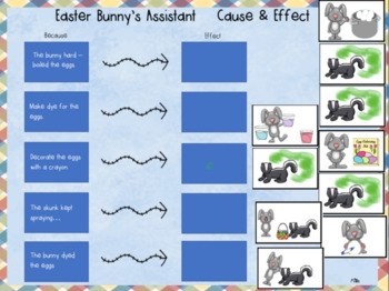 Easter Bunny's Assistant SMART board activity