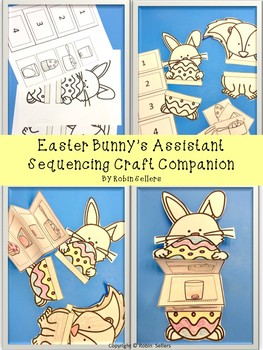 Easter Bunny's Assistant Sequencing Craft (How to Dye Eggs Sequencing)