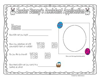 Easter Bunny's Assistant : Application