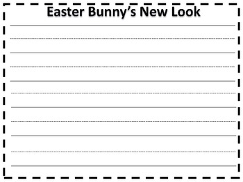 Easter Bunny's New Look