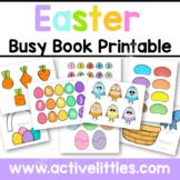 Easter Busy Book Quiet Book Preschool Activity Binder Prin