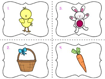 Easter CVC I Spy {FREEbie}