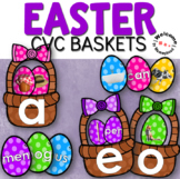 Easter CVC Matching - Easter Language Activities for Language Centers